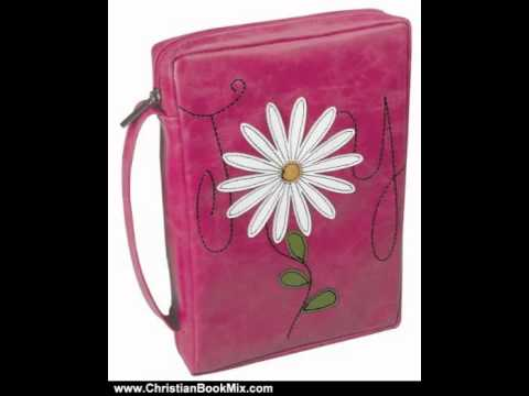 Christian Book Review: Applique Pink - Large Bible Cover by Christian Art Gifts