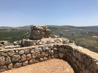 View from Nimrod fortress