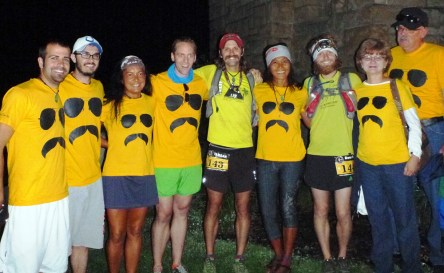Team Clemens at the Burning River 100 Mile Run