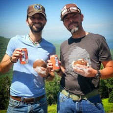 Chris and Luis with Moxie and Whoopie Pies