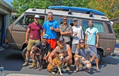 Chris Tarzan Clemens - PCT Hikers