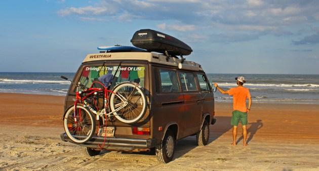 Chris Tarzan Clemens - Tantor on Daytona Beach