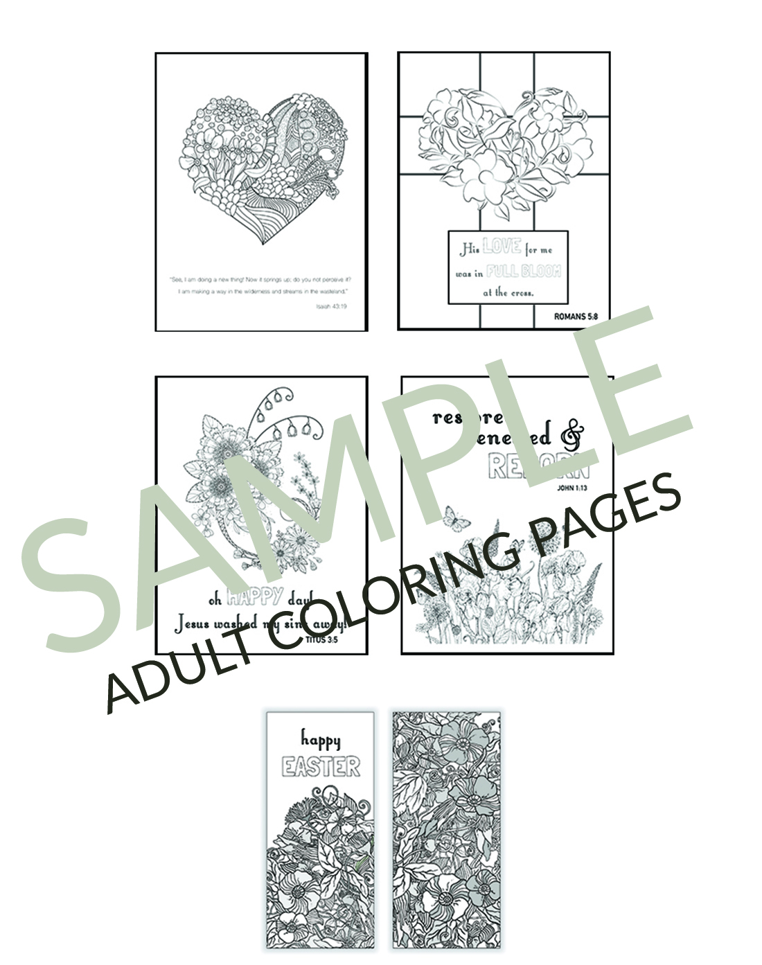 Christian Easter Coloring Pages Printables For Kids