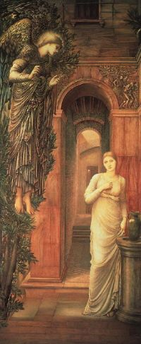 The Annunciation, by Sir Edward Burne-Jones