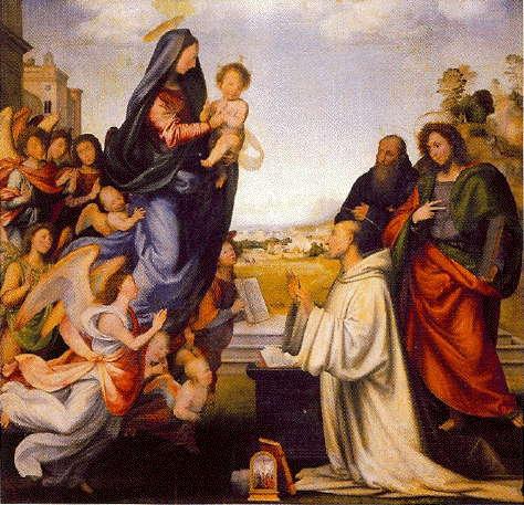 Fra Bartolommeo, Vision of St Bernard