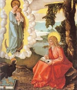 Baldung Grien, St John On Patmos