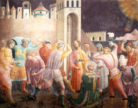 Uccello, Stoning Of St Stephen