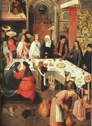 Bosch, Wedding Feast at Cana