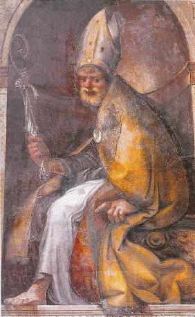 Parmigianino, Saint Hilary