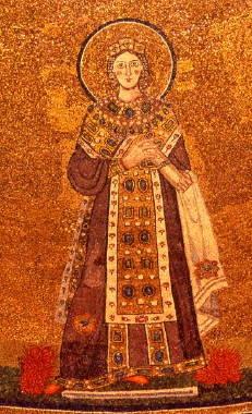 Saint Agnes Mosaic