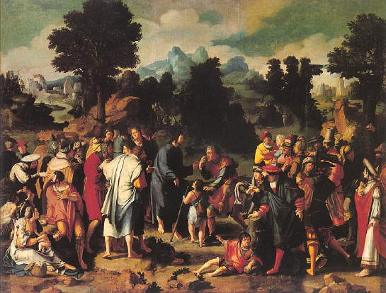 Leyden, Healing of the Blind Man of Jericho