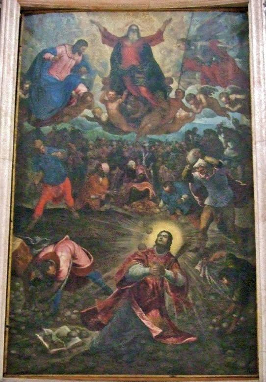 J&D Tintoretto, Martyrdom of St Stephen Protomartyr