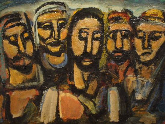 Rouault, Christ and Apostles