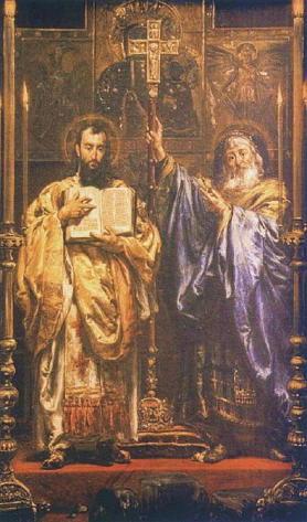 Jan Matejko, Saints Cyril and Methodius