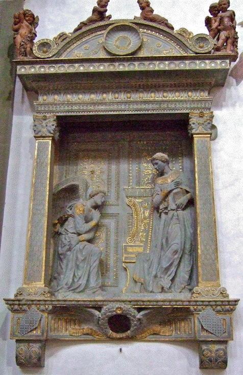 Donatello, Annunciation
