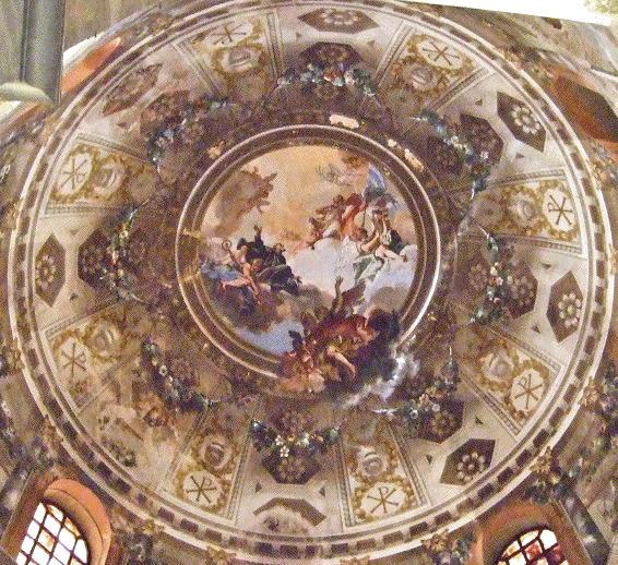 Glory of St Benedict and St Vitalis, San Vitale Ravenna