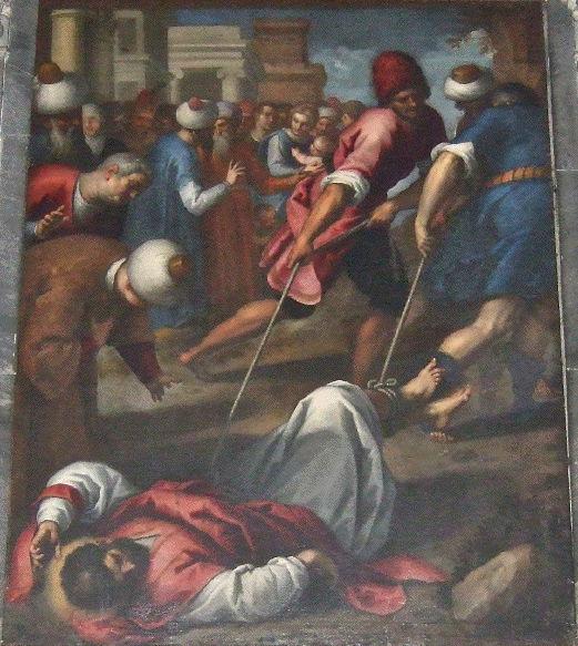 Palma il Giovane, Martyrdom of St Mark