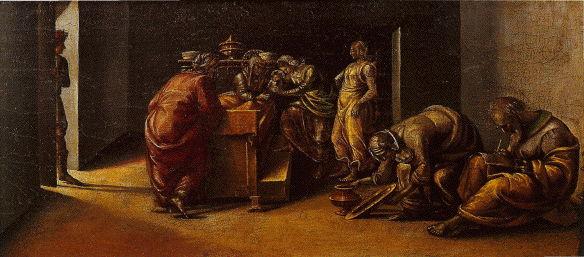 Signorelli, Birth of John the Baptist
