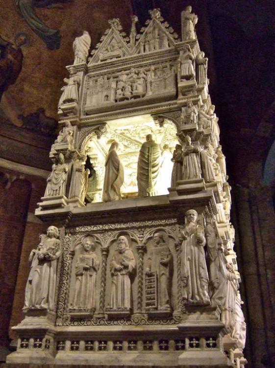St. Augustine's Ark, San Pietro in Ciel d'Oro, Pavia