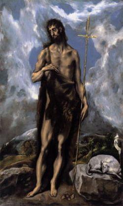El Greco, St. John the Baptist (1600)
