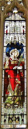 St. Stephen, Parish Church of St. John the Baptist, Cirencester