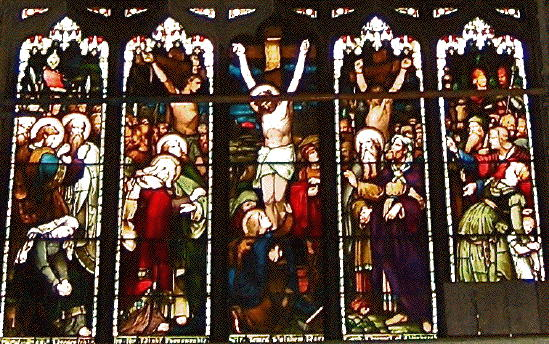St Giles' Cathedral, Crucifixion