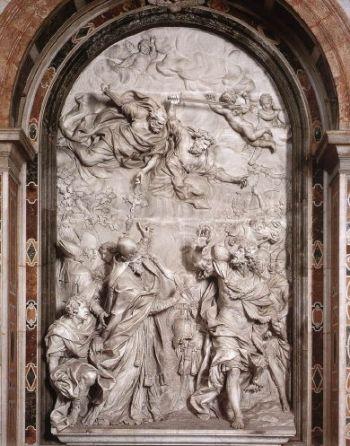 Algardi, Meeting of St Leo and Attila