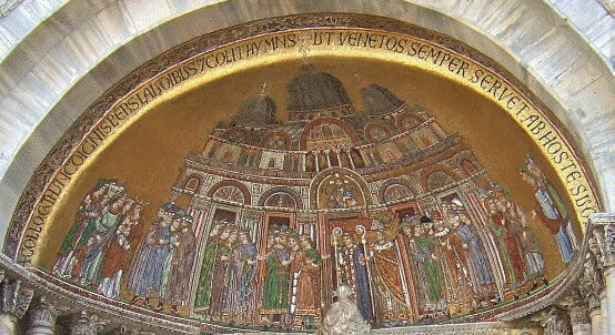 St. Mark's Basilica, Translation of St. Mark