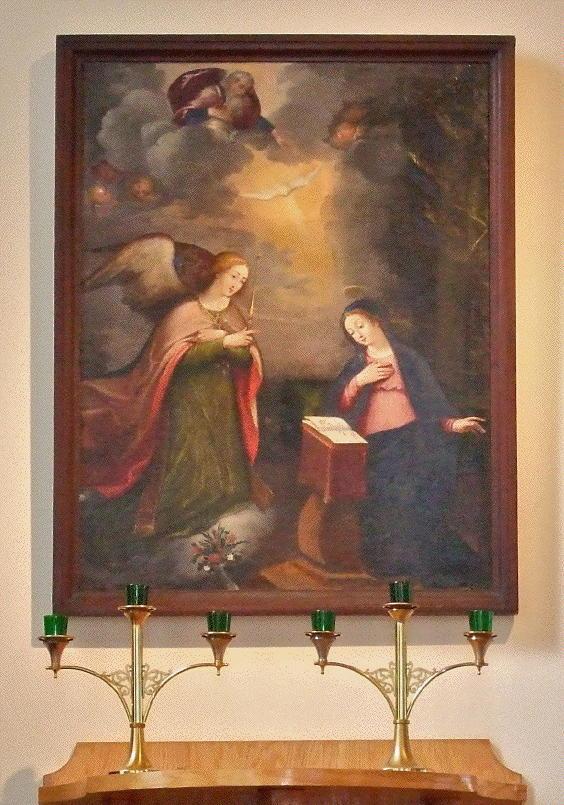 Eglise Ste-Anne, Annunciation