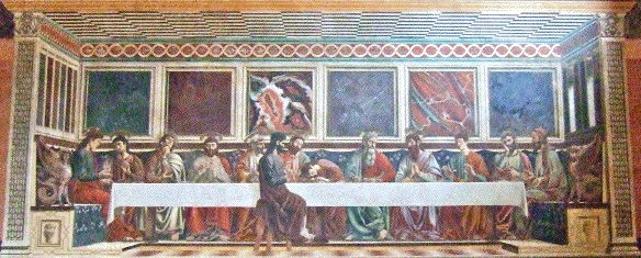 Andrea del Castagno, Last Supper