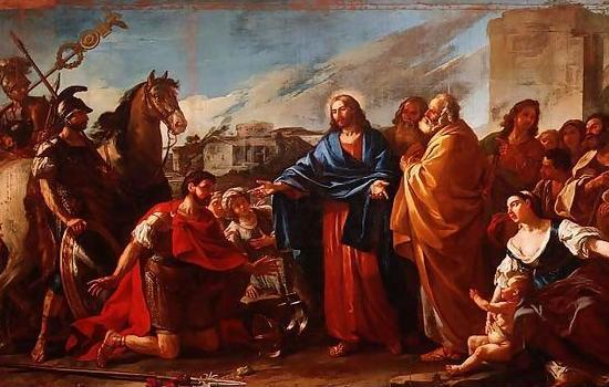 Vien, Jesus Healing Officer's Son