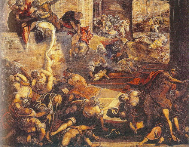 Tintoretto, Slaughter of the Innocents