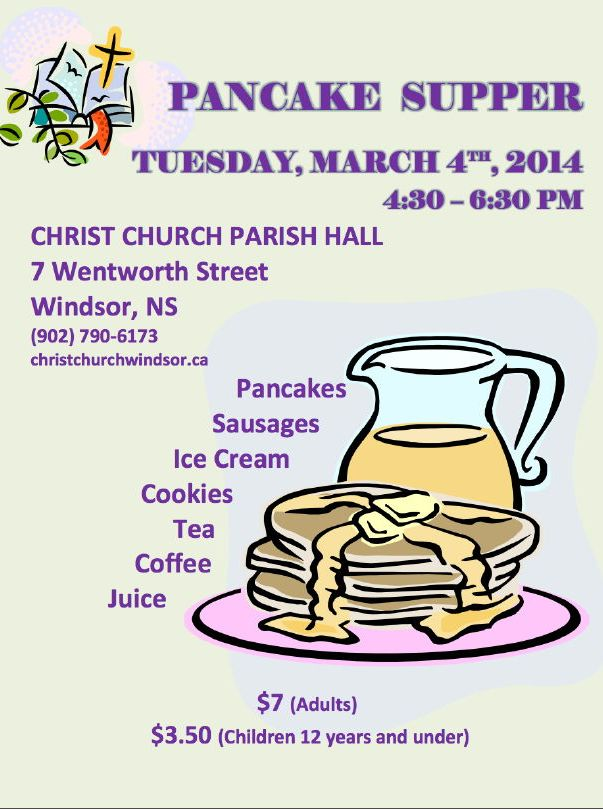 Pancake Supper 2014