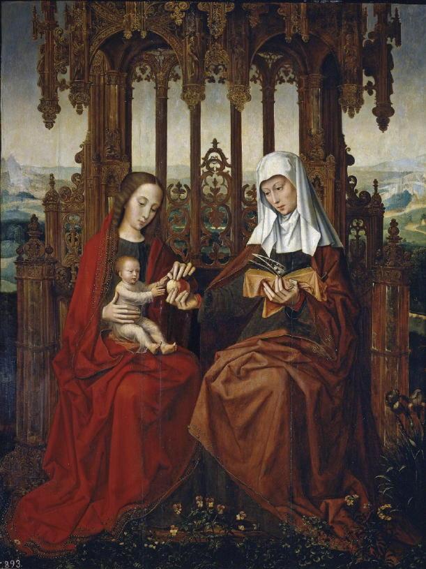 Benson, St. Anne, Child Jesus and BVM