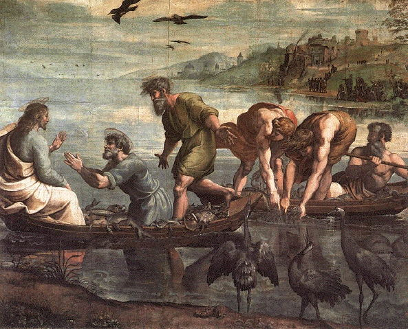 Raphael, Miraculous Draught of Fishes