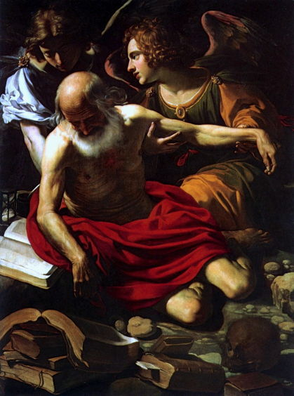 Manetti, St. Jerome Supported by Two Angels