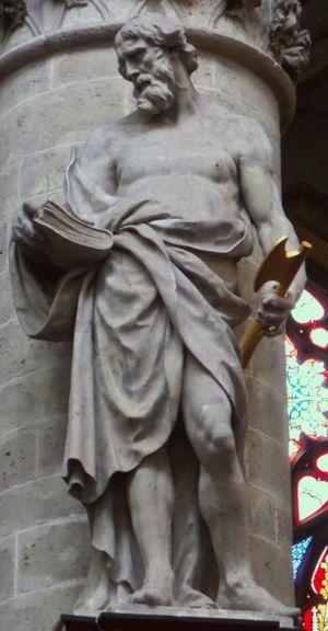Duquesnoy, St. Thaddaeus