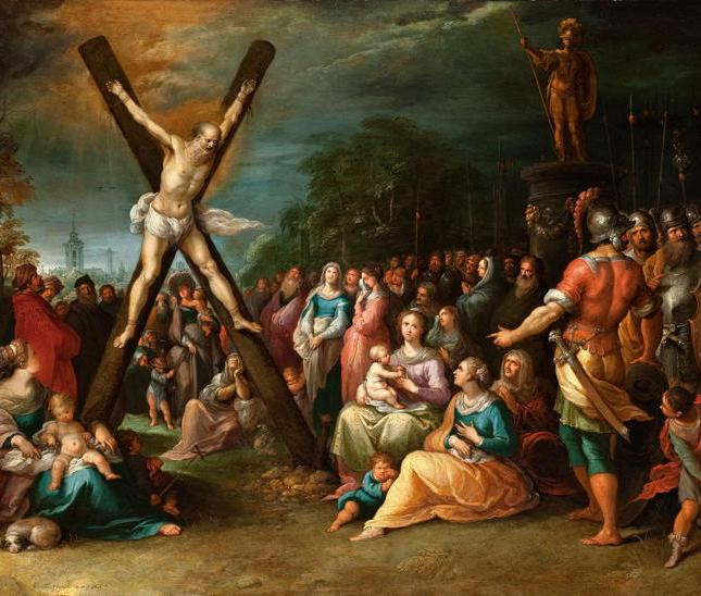 Francken the Younger, Crucifixion of St. Andrew