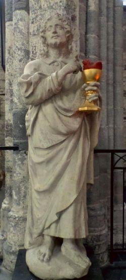 St. Nicholas' Church, Ghent, St. John