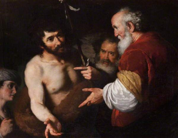 Strozzi, John the Baptist Interrogated about Christ