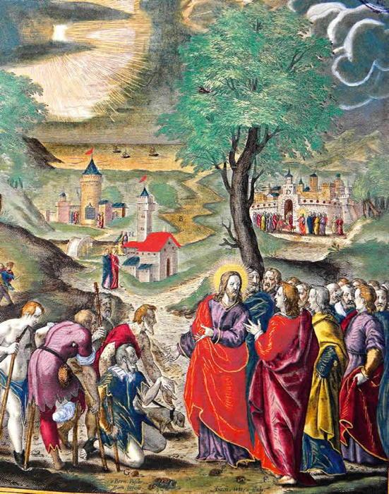 San Millan de la Cogolla, Healing Ten Lepers