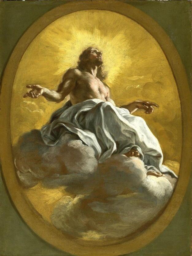 Il Baciccio, Christ in Glory