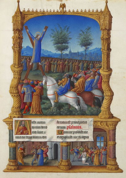 Limbourg Brothers, Martyrdom of St. Andrew