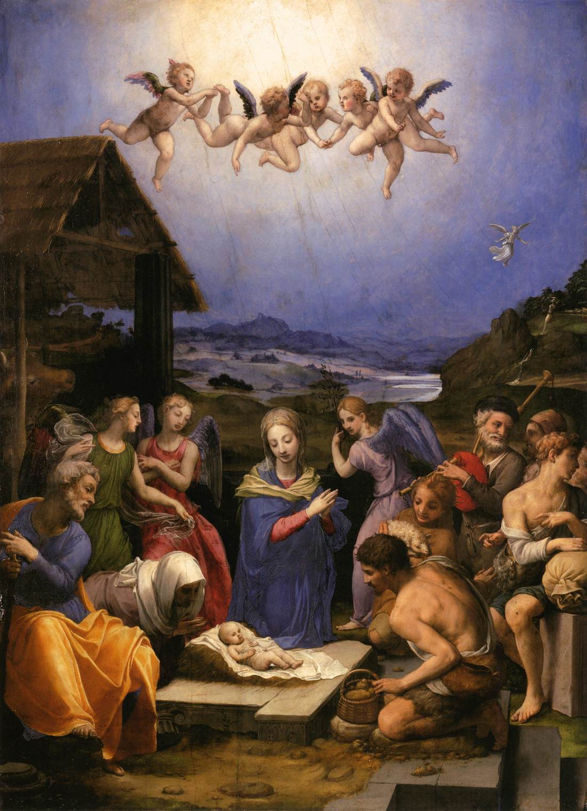 Bronzino, Adoration of the Shepherds