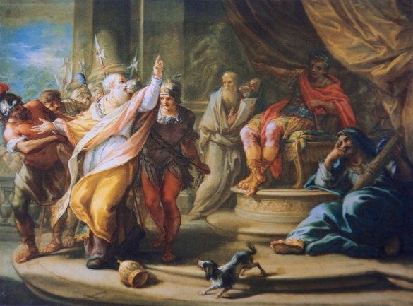 Piastrini, St. Ignatius Condemned by Trajan
