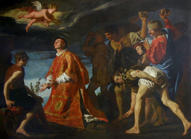 Stom, Stoning of St. Stephen