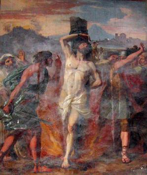 Circignani, Martyrdom of St. Polycarp