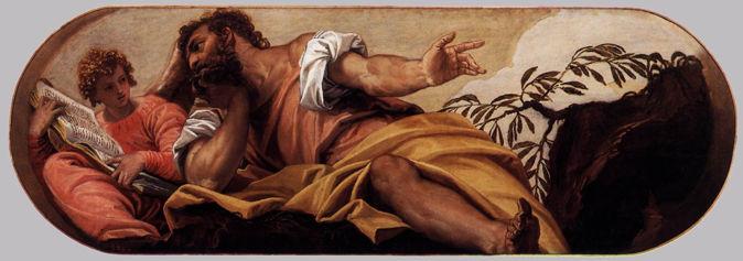 Paolo Veronese, St. Matthew