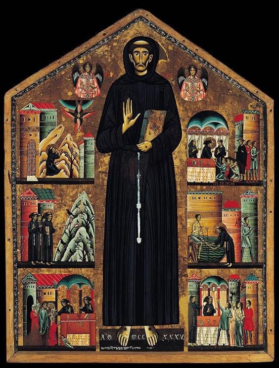 Berlinghieri, St. Francis altarpiece