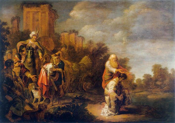 Bleker, Baptism of the Eunuch